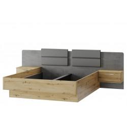 Łóżko 160 z szafkami...